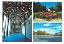 VIC - c1980s POSTCARD - THE GREAT HALL, NATIONAL GALLERY OF VICTORIA, MELBOURNE