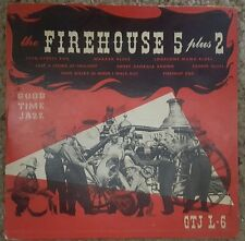 "1940 50'sJazz/Blues 78 rpm10"" Record  Firehouse 5 plus 2 goodtime jazz record co"
