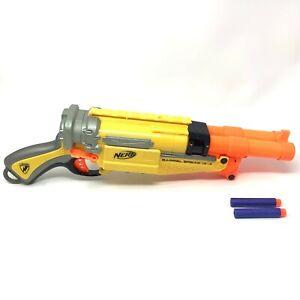 Nerf N-Strike Barrel Break IX-2 Soft Dart Double Barrel Shotgun Working W/Darts