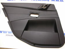 BMW E60/E61 LCi REAR RIGHT LEATHER DOOR CARD BLACK 51427078604