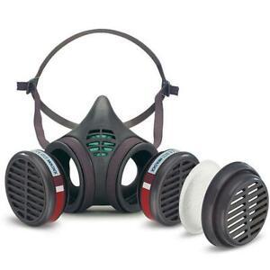 Moldex 8172 - Pre-assembled 8000 Series A1 P2 RD Medium Size Half Mask