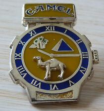 RARE PIN'S VOITURE 4 X 4 CAMEL TROPHY MONTRE ARGENT ZAMAC TIRAGE LIMITE