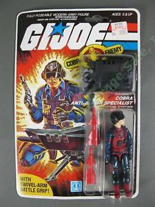 Original MOC 1984 GI Joe Cobra Scrap-Iron Anti-Armor Specialist v1 FACTORY SEAL!