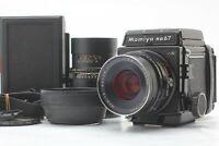 【NEAR MINT w/ Hood】 MAMIYA RB67 Pro S SEKOR C 90mm + 250mm 120 Film Back JAPAN