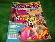 WRESTLE AMERICA 8/92 sting/ultimate warrior/jerry lawler/buddy landell