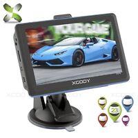 "XGODY 504 5"" inch 8GB Car GPS Navigation System Speedcam FM MP4 POI Maps SAT NAV"