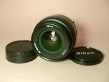 【Mint】Nikon AF Nikkor 24mm f/2.8 Prime Lens FedEx from Japan 104