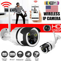 USA Outdoor Wireless IP Network Camera HD 1080p Security WIFI Camera System IR