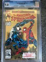 Amazing Spider-Man #375 CGC 9.8 WP 1993 Holo-Grafx Cover Venom