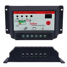 30A PWM Solar Panel Charge Controller 12V 24V Battery Regulator Light & Timer #M