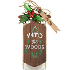 Bath & Body Works Wallflower Plug In Into The Woods Sled Fragrance Diffuser  NEW
