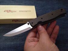 EnZo BRI2501 Birk 75 D2 blade Carbon fiber handle folding knife