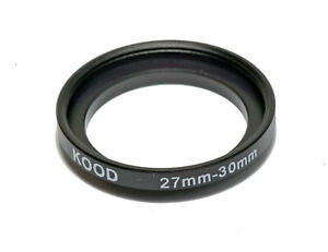 Stepping Ring 27mm - 30mm Step up ring 27-30mm