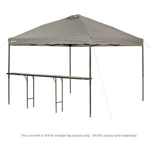 Folding Tent Bar-Height Canopy Table Outdoor Camping Picnic Durable Steel Legs