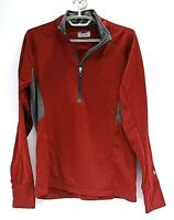 Under Armour Coldgear Women's 1/4 Zip Long Sleeve Semi-Fitted Size LG