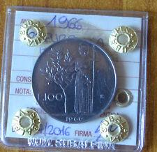 REPUBBLICA ITALIANA 100 LIRE 1966  SIGILLATA SPL/FDC numismatica SUBALPINA