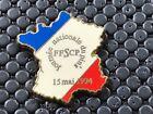 pins pin BADGE DIVERS CARTE DE FRANCE JOURNEE NATIONALE DU PIN'S 1994 ZAMAC