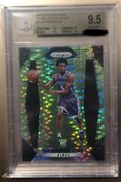 2017 Panini Prizm De'aaron Fox Green Pulsar ROOKIE RC /25 BGS 9.5 GEM MINT