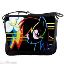 MY Little Pony Rainbow Large Messenger Bag Shoulder Notebook Laptops School Bags