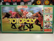 Vintage 1983 Waddingtons Totopoly Board Game - Complete VGC