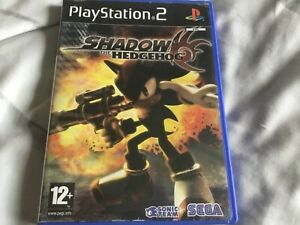 Shadow The Hedgehog Sony PlayStation 2 PS2 game complete