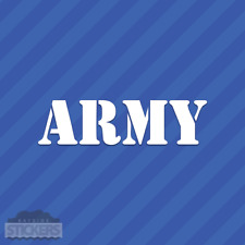 Army Vinyl Decal Sticker