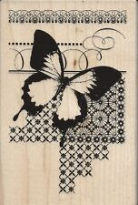 """""""Butterfly Pattern"""" Rubber Stamp by Stampendous"""