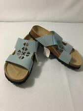 Betula Birkenstock Women's Fame Slide Sandals Shoes Light Blue Size 37 4,5 N
