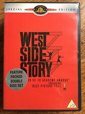 Natalie Wood WEST SIDE STORY  1961 Musical Classic 2-Disc Special Edition UK DVD