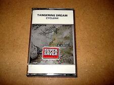 Tangerine dream-cyclone/MC Cassette/OVP, sealed/virgin/CASSETTE AUDIO