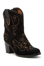 New! Frye VICTORIA Studded Italian Suede Leather Boot Womens NIB Sz 7 $498 CHIC!