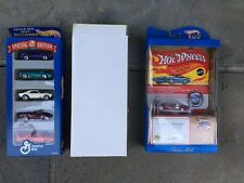 HOT WHEELS COLLECTION 1998 TWIN MILL REDLINE AND 1997 GENERAL MILLS DESIGNER