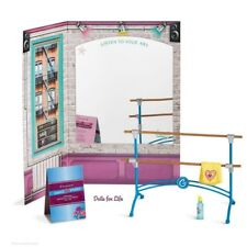 "American Girl Gabriela's Creative Studio Set For 18"" Doll ~Dance Barre + NIB NEW"