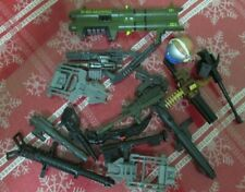 """G.I.Joe, guns,canon,accessories,assorted Lot - for 12"""" inch scale figures"""