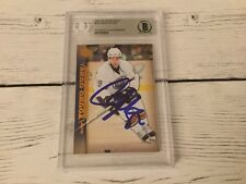 Sam Gagner Signed 2007/08 UD Upper Deck Young Guns Card RC Beckett BAS BGS a