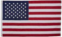 3' X 5' 3x5 USA American Flag Embroidered Stars Sewn in Stripes Nylon NEW USA