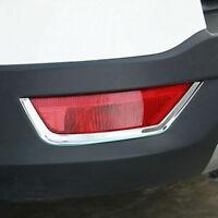 Chrome Rear Bumper Reflector Fog Light Lamp Cover Trim For Ford Kuga 2013-2018