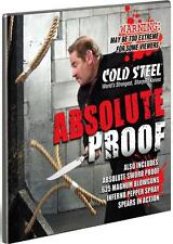 New Cold Steel Absolute Sword Proof Inferno Pepper Spray Blowgun Spear Knife DVD