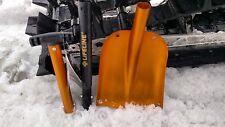 Orange Aluminum Collapsible Snowmobile Shovel Polaris Yamaha SkiDoo Arctic Cat