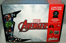 Marvel Avengers Collector Box Culturefly Walgreens Exclusive New Sealed Pin Hat