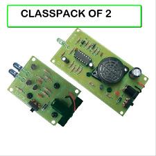 (PACK OF 2) VELLEMAN MK120 Infrared Detector / Alarm Sensor Light Barrier KIT