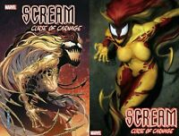 Scream Curse of Carnage 1 Main Cvr + Artgerm Variant 2019 NM 11/27