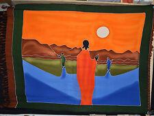 Sarong pañuelo playa pañuelo utilízalo tapicería Boot blando África grande! 115x170 ew427