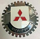 New Mistubishi Car Grille Badge- Chromed Brass- Great Gift Item!