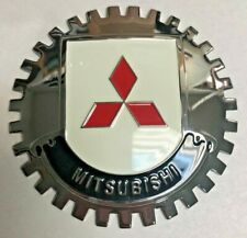 New Mistubishi Car Grille Badge- Chromed Brass- Great Gift Item!