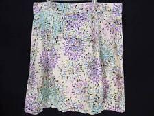 Lane Bryant Skirt 22W A Line Beige Blue Yellow Green Black Purple Pink 3X Womens