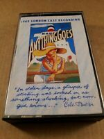 Anything Goes / London Cast : Vintage Tape Cassette Album From 1989