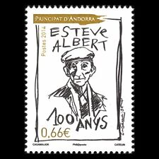 Andorra 2014 - 100th Anniv of the Birth of Esteve Albert Historien - MNH