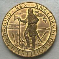 1066 - 1966 Battle of Hastings Medal - Approx 2 Centimeters in Diameter