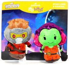 Hallmark Guardians of the Galaxy Star Lord & Gamora Itty Bitty Plush Figure Set!